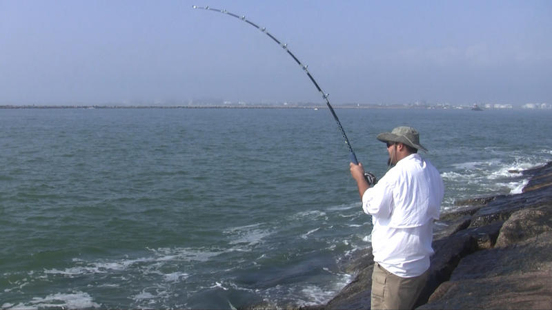 texas surf fishing surf fishing for bull reds in texas