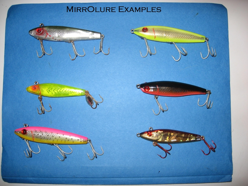 speckled trout lure examples