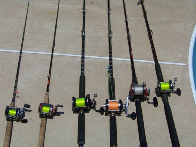 01 equipment texas shark fishing for How many fishing rods per person in texas